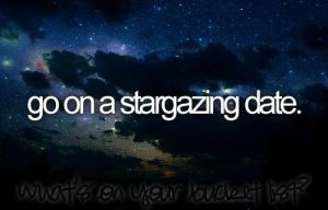 Go for stargazing