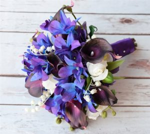 Mini Bouquets with orchids