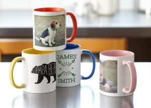 Personalized Mugs with Card