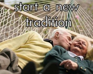 Start a new tradition