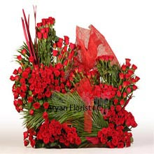 productColossal love must be represented with an equivalent gift. What better than a beautiful arrangement of 500 Red Roses that will make the receiver speechless with wonder and amazement. This surprise for your valentine will be overwhelming as it will mitigate all the past issues and won't allow any room for new one between the two of you. The fillers that are added to this makes it more subtle and beautiful, wishing eternal bliss for the two of you.