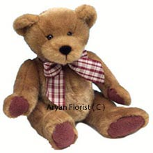 Medium Size Teddy Bear says it all without your speaking. The teddy has innocent eyes and is one of the choicest items for gifting to a child, your special friend, son, daughter or even your spouse. This teddy is innocent in its appearance and attracts everyone who views it. The brown color of this teddy makes it look very close to reality and can be a best gift for a child who will go bonkers over this. ( Please Note That We Reserve The Right To Substitute Any Product With A Suitable Product Of Equal Value In Case Of Non Availability Of A Certain Product)