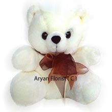 productWhen in doubt, there's always this cute small teddy bear to send to your lovely girl. Designed to be soft, fluffy and pretty, this teddy bear makes for a perfect gift for every occasion. Send it on her birthday along with a cake or chocolates or as a welcome home gift. This one is sure to spread smiles.