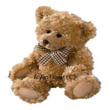 A lovely package of cuteness, send this small size teddy bear to your loved ones on special occasions. It gets delivered creatively wrapped in fancy gift wrapping and is sealed with a lot of love, especially for your loved ones.