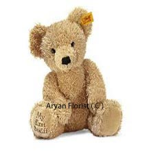 Send your love with this soft little teddy bear. The softest, cutest and most adorable teddy bear, this one will light up your loved one�s day. Send it on birthdays, anniversaries, as a welcome-home gift or simply a surprise present.