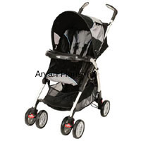 productHere's a fancy baby stroller for the newborn joy in your family and friends lives. Gift this sturdy, functional and fun baby stroller for the newborn baby to go on strolls everyday. The stroller is designed well, looks good and a perfect gift for the occasion.