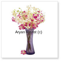 productA beautiful arrangement of orchids in a glass vase is sure to impress. Send these on anniversaries to make your loved ones feel special. The orchids are handpicked by expert florists and elegantly placed alongside each other to create a beautiful bunch. The designer glass vase adds the element of class and style.