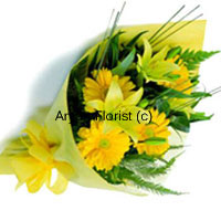 productIf you can't say it upfront, flowers are the best to communicate your feelings to any one you love. If you want to thank your mother for her sacrifices, your father for his diligence or your wife for being there invariably use these flowers. Don't belittle your emotions by using words, instead emanate your warmth by this bunch of divine yellow flowers. This will be self explanatory and you will be loved more. Order now!