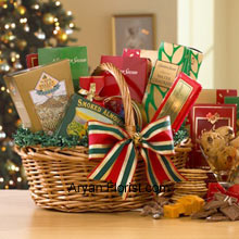 productFestivities like Christmas, Diwali, Raksha Bandhan and much more are the harbinger of lovely goodies that are not only well wrapped but also delicious. This exciting basket containing Fancy Water Crackers, Sharpy Cheddar, Honey Mustard Pretzel Nuggets, Dutch Gouda Cheese Biscuits, Smoked Almonds, Assorted Fruit Bonbons, Homestyle Peanut Brittle, Chocolate Chip Cookies, Chocolate Truffles and mouth watering Milk Chocolate will surely stimulate your tongue for more. You will indeed get more love from your receiver who will be all praises for this beautiful pack. (Please Note That We Reserve the Right to Substitute any Product with a Suitable Product of Equal Value in Case of Non-Availability of a Certain Product)