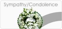 Sympathy / Condolence Flower Delivery in India